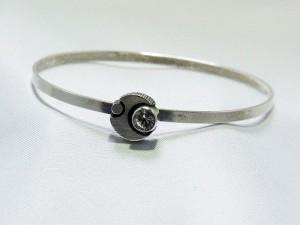 karl laine sten finnfeelings sterling silver vintage modernist finland scandinavian bracelet 1.JPG