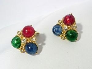 Trifari vintage designer mogul cripoix clip earrings oorbellen costume jewelry americam amerikaans d.JPG