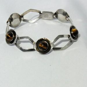 Niels Erik From NEFrom N.E.FROM  From Denmark Denemarken Danmark Modernist Designer Silver Zilveren Vintage Modernistische bracelet armband 2.JPG