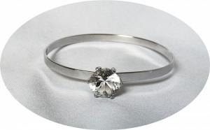 Teka Theodor Klots Pforzheim Germany Duitsland vintage modernist 925 zilveren silver designer  bracelet spang armband met bergkristal rock crystal 2.JPG