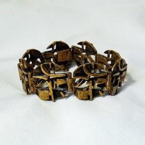 Jorma Laine Finland Bronze Bronzen Brons armband bracelet 1970s 70er jaren vintage desinger modernist Scandinavian 6.JPG