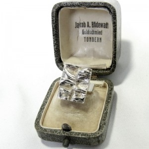 Matti Hyvarinen Sirokoru Finland 925 zilveren silver ring modernist designer Scandinavian vintage 2.JPG