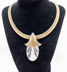 Ermani Bulatti vintage costume designer necklace art deco dutch design e.JPG