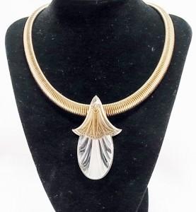 Ermani Bulatti vintage costume designer necklace art deco dutch design e.JPG