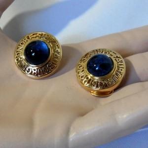 Louis Ferraud Bijoux vintage haute couture designer earrings France Frankrijk  Faubourg Saint Honoré Paris Parijs 1.JPG