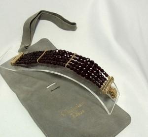 christian dior vintage designer costume bracelet armband a.JPG