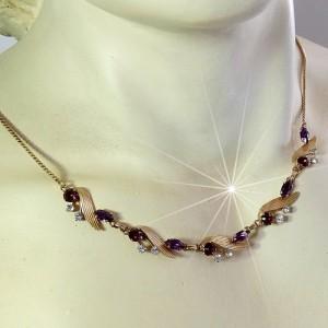Van Dell America Amerika vintage designer 1 20 G.F. Golled Fillde necklace collier ketting 1950s 50er jaren Rhode Island costume jewelry 9.JPG