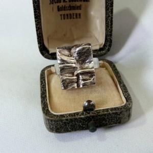 Matti Hyvarinen Sirokoru Oy Finland sterling 925 silver adjustable verstelbare ring modernist vintage designer Scandinavian 1976 1.JPG