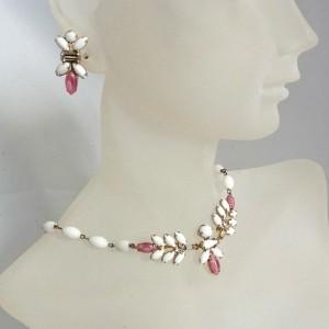 Duane vintage necklace set sieraden set collier ketting schroef oorbellen screw back earrings  designer 1950s 50er jaren 1.JPG
