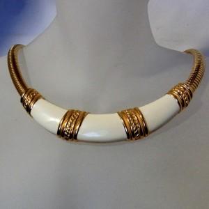 Monet vintage American Amerika  collier necklace ketting choker designer 1.JPG