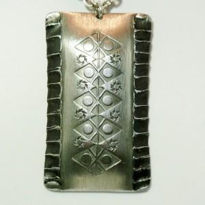 Norsk Handarbeit Rolf Buodd modernist Norwegian pewter necklace pendant cJPG.JPG