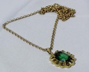 K_en_L Kordes _en_ Lichtenfels Pforzheim Amerik gold plated fifties sixties 60er jaren vintage Art Deco  pendant necklace hanger ketting collier e.JPG