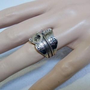 Kalevala Koru Oy Finland 925 silver zilveren sterling Lapin Sormus designer Folkloric ring Scandinavische Scandinavian Modernist 1973 1.JPG