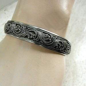 Antieke Straits Indo Chinees Chinese 925 zilveren armband bracelet 925 sterling silver old antique vintage 1.JPG