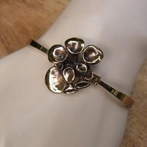 Hannu Ikonen Finland bronze bronzen spang armband bracelet bangle reindeer moss rendier mos vintage modernist scandinavian 3.JPG