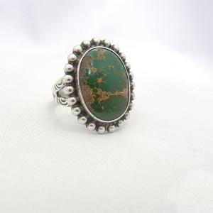 Navajo indianen native american vintage sterling 9+25 silver ring designer natural stone natuurlijke steen 1.JPG