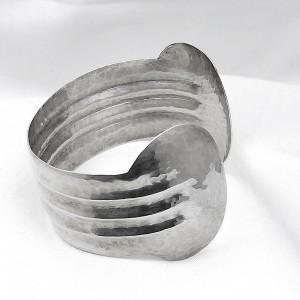Perli Duitsland Germany Art Deco cuff bracelet spang armband 835 zilveren silver modernist vintage designer Martha May 1.jpg