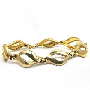 Kordes Lichtenfels K_en_L Amerik gold plated vergulde Duitse Germany German link bracelet schakel armband 60er jaren 1960s designer modernist vintage 1.jpg