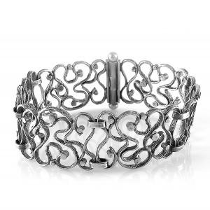 Perli Duitsland Germany Mattha May 800  silver Jugendstil modernistisch zilveren armband bracelet link designer vintage 6.jpg