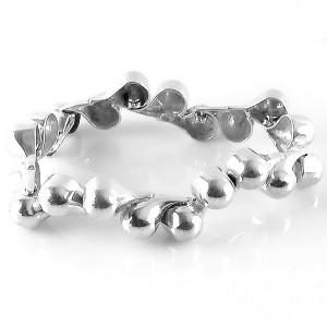 Dutch Nederlands 835 zilveren silver vintage modernist modernistische druppelvormige bollen braceket armband designer 2.jpg