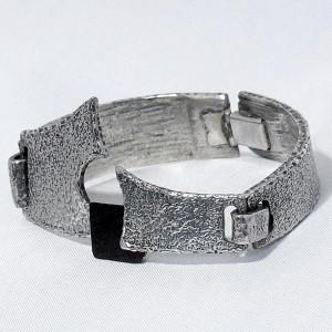 Jean Claude Darveau Canada Canadian Modernist Vintage Designer Contemporary art brutalist bracelet designer modernist armband modernistische 1.JPG