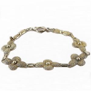 Theodor Fahrner 925 gilded vergulde schakel armband link bracelet vintage antique antieke designer filligree filigrain 6a.jpg