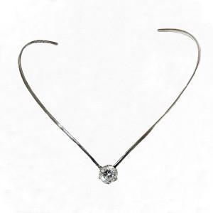 Mexico Mexican Taxco925 sterling silver zilveren spang collier necklace neckring bergkristal rock crystal vintage modernist designer 9.JPG