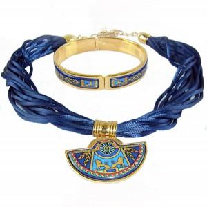 Michaela Frey Wille Wienen Wenen Oostenrijk austria vintage designer necklace brACELET armand collier hanger original box 18 gold plated enamel emaille 6.JPG