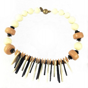 Miriam Haskell America Amerika vintage Art Deco modernist  lucite collier necklace 1960 designer 60er jaren costume 1.jpg