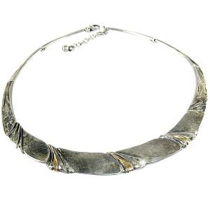 Perli Marga Martha May Pforzheim Germany Duitsland 925 sterling silver zilveren gold goud necklace collier ketting designer modernist vintage 5.JPG