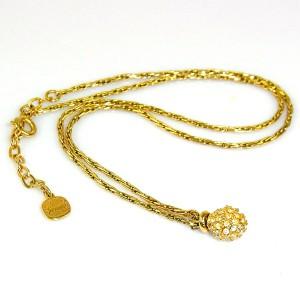 Henkel Grosse Germany vintage gold plated designer collier hanger ketting pendant necklace Dior maker 6.JPG