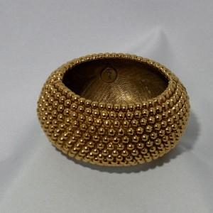 Original Vintage designer costume jewelry YSL Yves Saint Laurent France bracelet armband gold tone goudkleurig a.JPG
