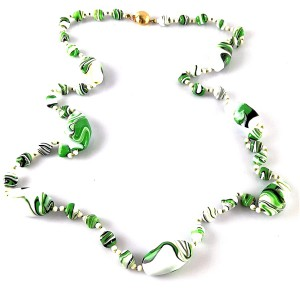 Alice Caviness Amerika America artificial glass beads necklace glas kralen collier ketting vintage designer costume jewelry old 6.jpg