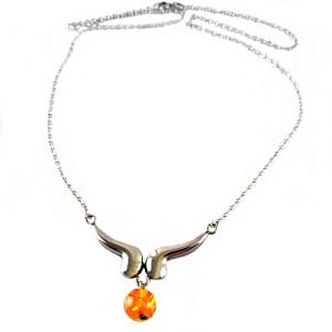 835 silver Zilveren vintage modernistisch necklace modernist collier hanger ketting barnsteen balletje  amber ball designer  German  Scandinavian 1a.jpg