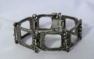 Teka Theodor Klotz vintage modernist sterling 925 silver zilveren armband Bracelet sixties 60er jaren c.JPG