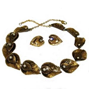 Ermani Bulatti 1970s 1980s design designer necklace set clip earrings collier ketting oorbellen vintage Dutch 12.JPG