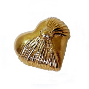 Loris Azzaro vintage designer brooch broche Heart hart gilded verguld 3a.jpg
