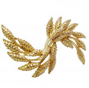 Large grote Sarah Coventry goldtone goudkleurig gold plated metal brooch broche vintage designer costume 4.jpg