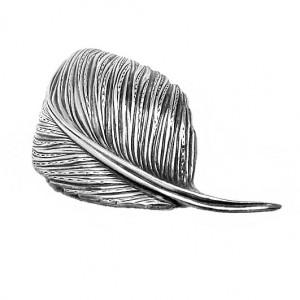 Henkel Grosse pforzheim Germany Duitsland Dior 1961 925 sterling silver zilveren broche brooch leaf vintage designer 6a.jpg