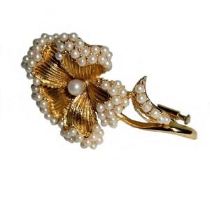 Orena vintage designer broche brooch Paris Parijs Frankrijk France costume jewelry 1950s 1960s 2.jpg