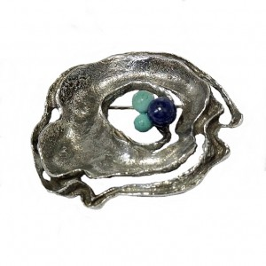 Relo 925 silver sterling zilveren brooch broche vintage modernist Austrian Oostenrijk designer mid century 1960s 60s sixties 60er 6.jpg