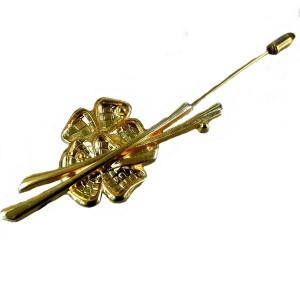Miss Arpels van Cleef vintage pin broche brooch rever speld original box doos 90s designer 4a.jpg