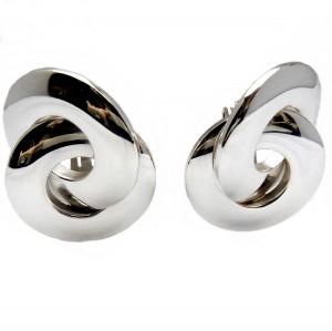 Grosse Germany Henkel massive massieve large grote 925 sterling silver zilveren clip oorbellen earrings designer vintage modern 2.jpg