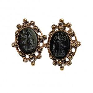 Napier America Amerika vintage designer clip earrings oorbellen costume jewelry 2.jpg