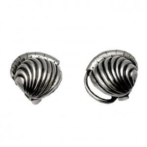Kordes _en_ Lichtenfels Germany Duitsland 835 zilveren silver clip earrings oorbellen vintage old oude modernist designer 2.jpg