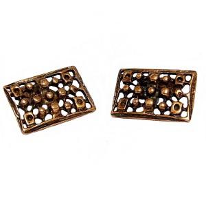 David Andersen bronze cufflinks machetknopen bronzen designer vintage Norway Noorwegen Unn Tangerud uni bronse 3.jpg