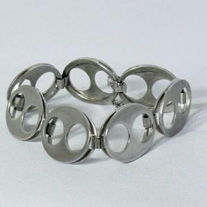 50b114723ff28_Andreas Daub Pforzheim Germany 925 sterling silver silver Modernist Vintage bracelet armband b.JPG