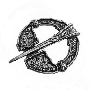 Miracle creations Schotland Scotland pewter tinnen broche brooch old vintage designer traditional modernist fibula United Kingdom 1.jpg