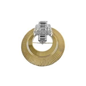 Marcel Boucher France Frankrijk vintage 1950s 50er jaren designer brooch broche crystal rhinstones high end 4.jpg