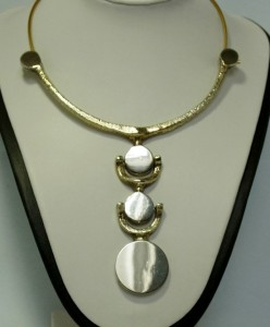jacob hull Denmark Denemarken vintage modernist Buch Deigmann collier ketting necklace a.JPG